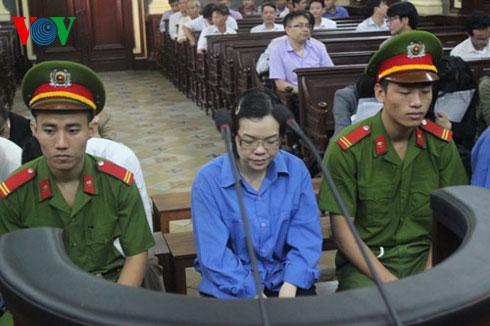 Huyền Như tại phiên xét xử phúc thẩm