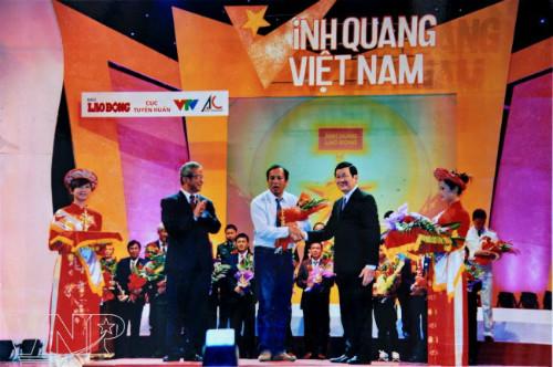 Ngư dân Mai Phụng Lưu là một trong 21 tập thể và cá nhân nhận giải thưởng
