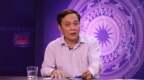 Ông Phạm Lương Sơn, Trưởng ban Thực hiện chính sách BHYT (Bảo hiểm Xã hội Việt Nam).