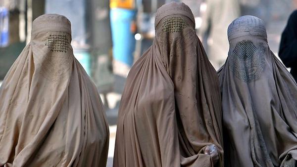 Trang phục Burqa truyền thống.