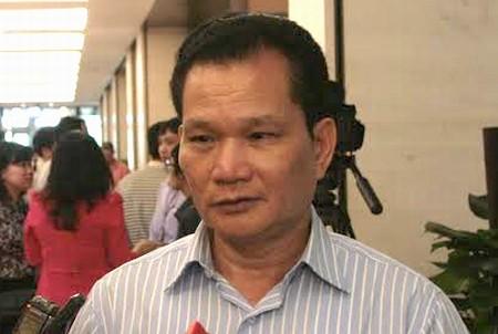 Đại biểu Bùi Sỹ Lợi - Phó Chủ nhiệm Uỷ ban các vấn đề xã hội của Quốc hội.