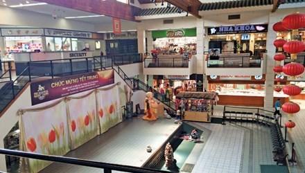 Một khu kinh doanh của người Việt ở Mỹ.