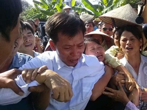 Ông Nguyễn Thanh Chấn ngày được thả về