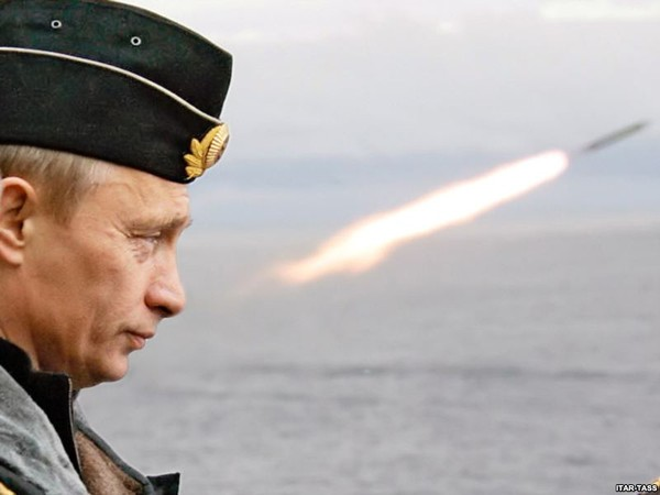 Ông Putin nổi tiếng với tác phong quyết liệt và có phần hiếu chiến.