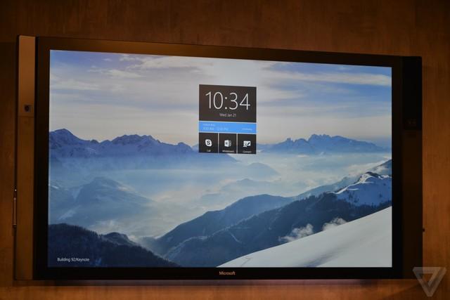 Surface Hub cũng chạy trên nền tảng Windows 10