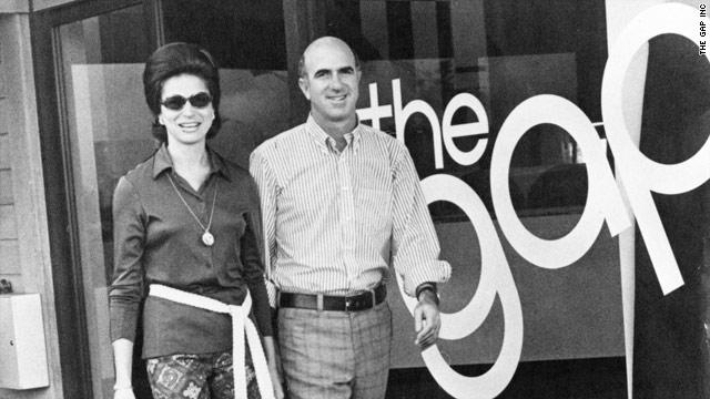 Donald Fisher và vợ, Doris Fisher, trong những ngày đầu của GAP.