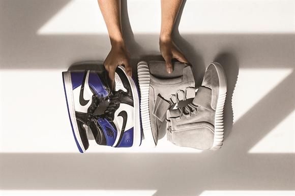 Những đôi giày Yeezy Boost của Adidas đã gây sốt thị trường trong 2 quý đầu năm nay - Ảnh: Hypebeast.com