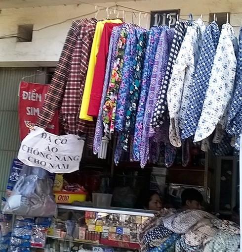 Một cửa hàng tạp hóa trên đường Trường Chinh.