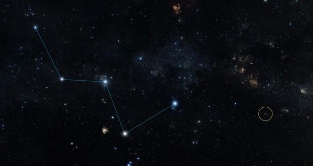 Vị trí hành tinh HD 219134b