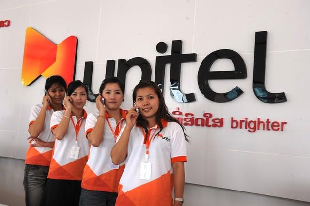 Mạng Unitel của Viettel tại Lào