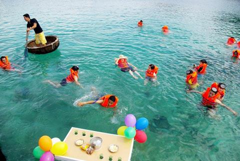 Du lịch ở Biển Bình Ba cho những người độc thân dịp Tết (ảnh: Nguồn Ivivu)