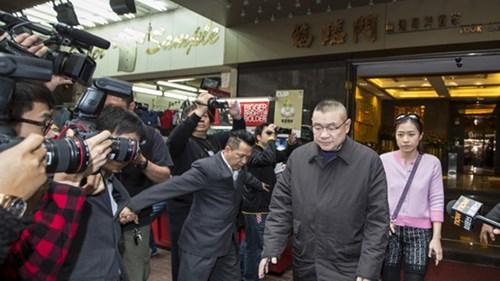 Ông Lau từng bị cáo buộc hối lộ, rửa tiền ở Macau năm 2014 - Ảnh: Reuters