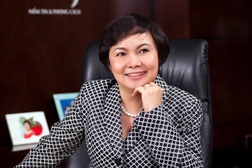 Bà Cao Ngọc Dung doanhnhansaigon