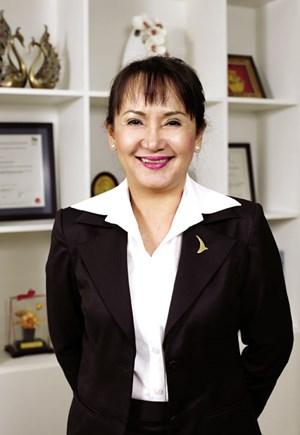 Bà Huỳnh Bích Ngọc, Phó chủ tịch Tập đoàn Thành Thành Công (TTC) doanhnhansaigon