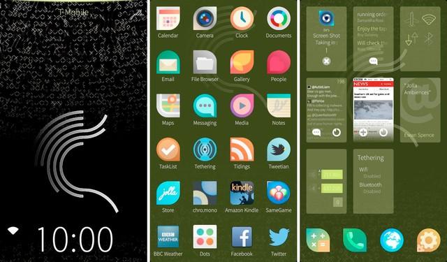 Sailfish OS tương thích rất tốt với các ứng dụng Android