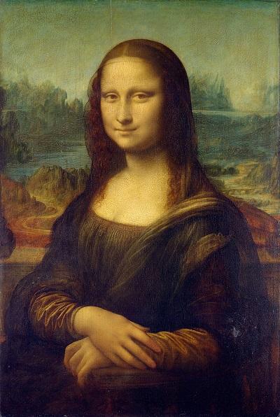 Bức vẽ nàng Mona Lisa.