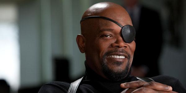 Nick Fury, một trong những vai diễn gần đây của Samuel L .Jackson.