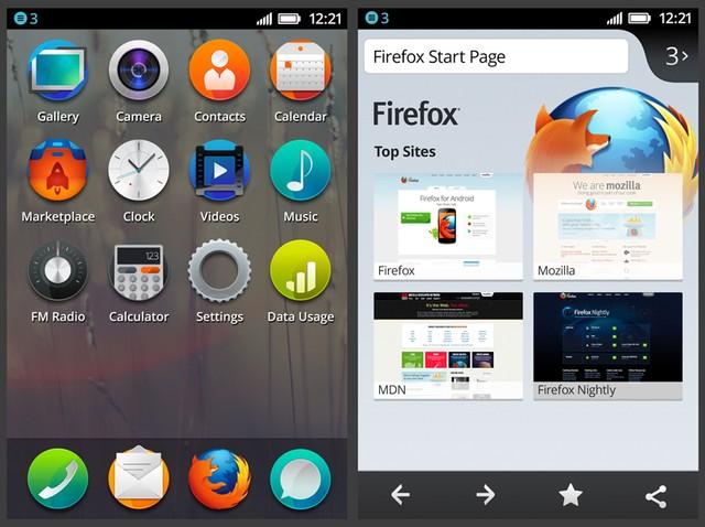 Ứng dụng trên Firefox OS sẽ được viết bằng HTML5, JavaScript cùng nền tảng Web API Service.