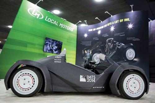 Strati – chiếc xe in 3D đầu tiên trên thế giới doanhnhansaigon