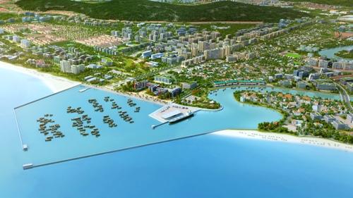 Diện mạo của một Phú Quốc được hoạch định đến năm 2030. Trong đó, tập đoàn Vingroup đang đầu tư khu cảng biển hành khách trị giá gần 500 tỷ đồng.