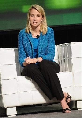 Marissa Mayer hiện tại là người phụ nữ quyền lực nhất nhì giới công nghệ, khi trở thành CEO của Yahoo.