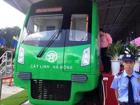tàu điện Cát Linh - Hà Đông sẽ được triển lãm 1 tháng