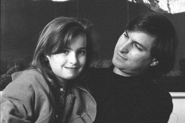 Lisa và Steve Jobs