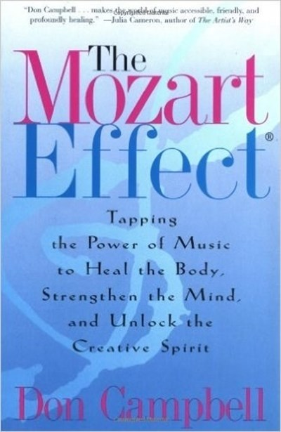 Cuốn The Mozart Effect của tác giả Don Campbell.