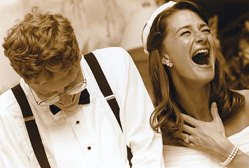 Hình ảnh hiếm hoi trong đám cưới của Bill Gates và Melinda.