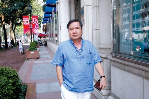 Ông Hồ Văn Trung - doanh nhân sáng lập TrangCorp. Ảnh: VietQ.