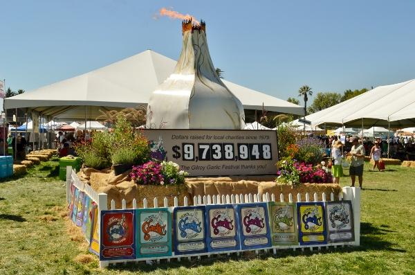 Lễ hội Gilroy Garlic 2013.