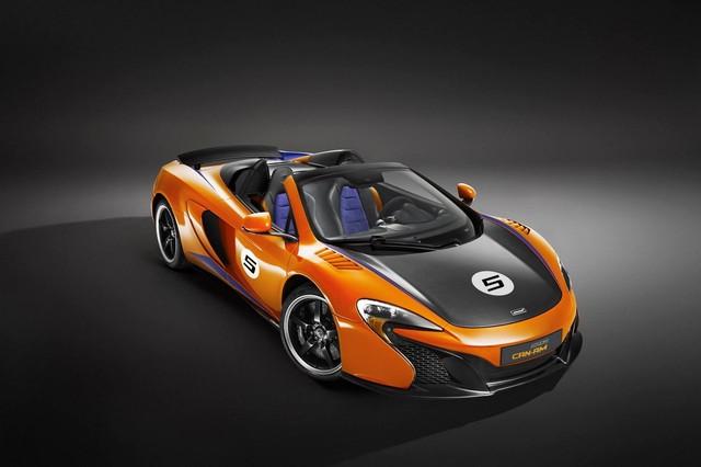 McLaren 650S Can-Am vàng cam Papaya Spark