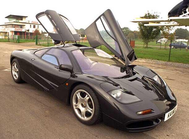 McLaren F1s vô địch giải đua F1 năm 1995 trong bộ sưu tập của nhà vua.