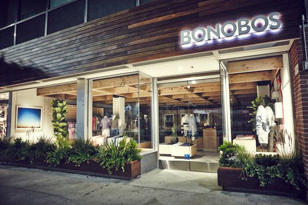 Một showroom của Bonobos