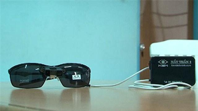 Chiếc kính mắt thần đã được cải tiến.