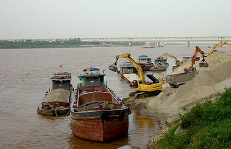 Dự án vận tải thủy và thủy điện trên sông Hồng còn nhiều hệ lụy chưa tính hết. Ảnh: H T Nga.