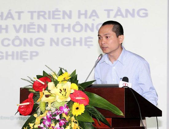 Ông Hoàng Trung Kiên, Phó Tổng giám đốc FPT Telecom.