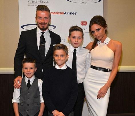 David Beckham thực sự hạnh phúc khi có gia đình viên mãn vào năm 37 tuổi.