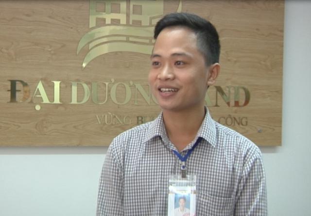 Mai Văn Lương, một nhân viên môi giới BĐS