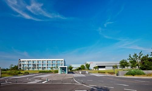 Khuôn viên nhà máy Canon đặt tại Oita, Nhật Bản