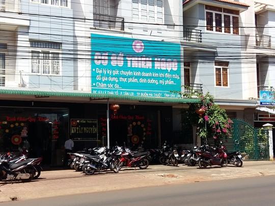 Một chi nhánh của công ty TNHH Thiên Ngọc Minh Uy. Ảnh Nlđ.