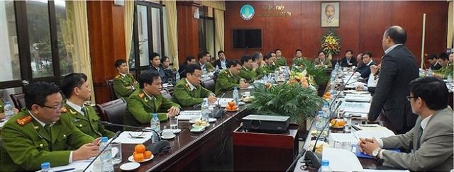 Bộ Công an, Bộ NN-PTNT và Bộ Y tế sẽ phối hợp siết chặt việc NK, sử dụng chất trong thời gian tới.