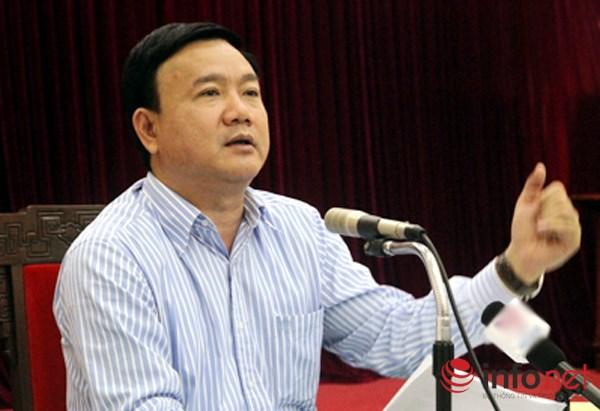 Bộ trưởng Bộ GTVT Đinh La Thăng. (Ảnh: Vạn Xuân)