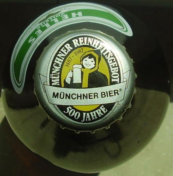 Chỉ những thương hiệu tuân theo đạo luật Reinheitsgebot mới được bán với tên gọi bia-bier.