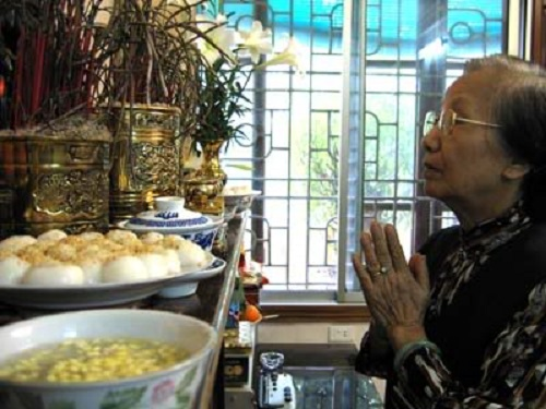 Hình ảnh bánh trôi bánh chay đã trở nên quen thuộc với người Việt trong ngày tết ý nghĩa này (Ảnh minh họa).