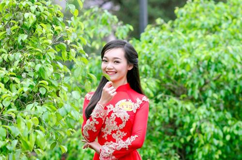 Cô gái Trần Mỹ Linh.