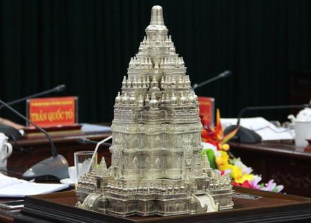 Mô hình chùa Tháp sẽ được xây dựng tại tỉnh Thái Nguyên sẽ là một Tháp phật giáo lớn nhất thế giới