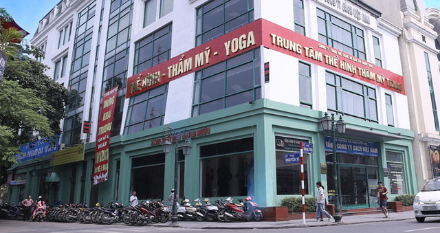 Trụ sở Savina tại 44 Tràng Tiền, cạnh hồ Hoàn Kiếm