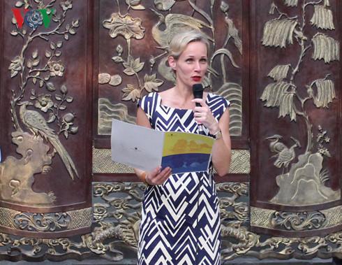 Đại sứ Thụy Điển tại Việt Nam- Bà Camilla Mellander