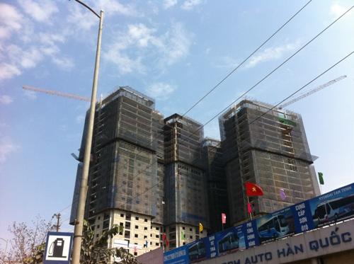 Hiện tại các căn hộ tại đây đang được rao bán với giá từ 17 triệu đồng/m2